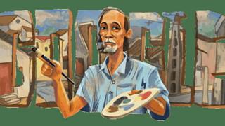 Bùi Xuân Phái xuất hiện trên Google Doodle là ai - Danh họa kinh điển Việt Nam với các tác phẩm bền vững theo năm tháng