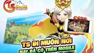 TS Online Mobile - Lag.vn thân tăng 200 Giftcode với những phần quà cực hấp dẫn