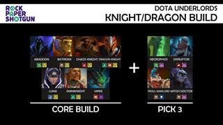 Dota Underlords: Top 6 đội hình Ace Tier mạnh nhất meta hiện tại với Knight, Troll và Mage bá đạo