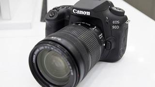 """Trên tay nhanh Canon EOS 90D - """"truyền nhân"""" EOS 80D"""
