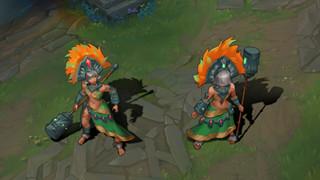 LMHT: Game thủ tự sáng tạo tướng từ văn minh Aztec khiến cộng đồng ngợi khen hết mình