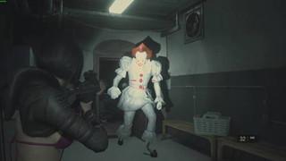Cơn ác mộng Pennywise lạc trôi sang Raccoon City trong Resident Evil 2 Remake