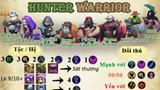 Auto Chess Mobile: Hướng dẫn đội hình Hunter Warrior đúng chuẩn rank Queen cùng chuyên gia
