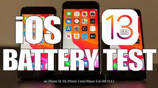 iOS 13 đã cải thiện thời lượng pin so với iOS 12.4.1 chưa?