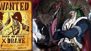 One Piece: Liệu X Drake có phải là nội gián của Hải quân cài vào băng Bách Thú?