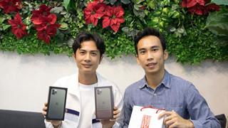 """Sau khi công khai hẹn hò Sỹ Thanh, Huỳnh Phương """"tậu"""" đôi Iphone 11 Pro Max xanh rêu đặc biệt"""