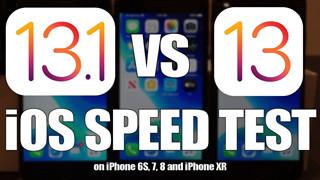iOS 13 vs iOS 13.1: Bản nâng cấp nào sẽ nhanh hơn?