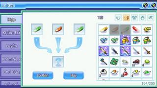 TS Online Mobile: Hướng dẫn Lò Rèn và bảng Khảm Đá với chức năng đầy đủ cho Tân Thủ
