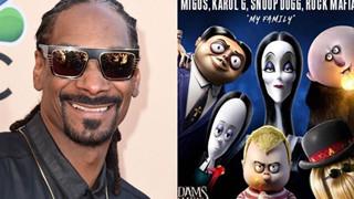 Hậu hợp tác với Sơn Tùng MTP, Snoop Dogg ra nhạc gây nghiện trong phim hoạt hình - Gia đình Addams