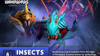 Dota Underlords - Hé Lộ bản cập nhật mới ngày 19 tháng 10 xuất hiện Alliance Healer và Insects