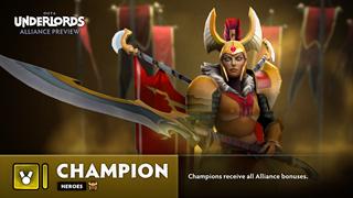 Dota Underlords - Xuất hiện thêm Alliance Champion và hàng loạt tướng mới