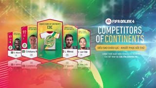Top 5 cầu thủ hot nhất trong mùa COC của FIFA Online 4