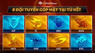 Ghi dấu ấn ở vòng bảng, hai đại diện Việt Nam trở thành đối thủ mạnh tại tứ kết AIC 2019