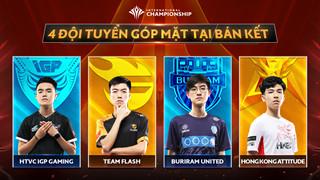 """Bán kết AIC 2019 - """"nội chiến"""" HTVC - IGP Gaming và Team Flash"""
