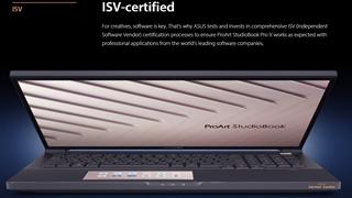 """ASUS ra mắt ProArt StudioBook Pro X W730 với mức giá """"khủng"""" 4999USD"""