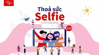 """Khoảnh khắc thú vị từ cuộc thi """"Thỏa sức Selfie, Tự tin tỏa sáng"""" của ITEL"""