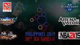 Tổng hợp lịch thi đấu Esports tại Sea Game 30 sắp diễn ra vào tháng 12 tới