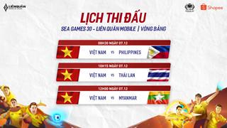 Lịch thi đấu ngày ra quân của Mocha ZD Esports tại đấu trường SEA Game 30
