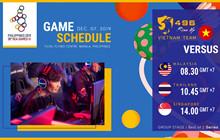 Dota 2 - Lịch thi đấu và cách xem trực tiếp Sea Games 30 vòng loại, bán kết và chung kết