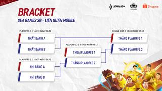 Liên Quân Mobile - Lịch thi đấu và cách xem Sea Games 30 vòng loại và vòng bán kết vào ngày 7 và 8 tháng 12