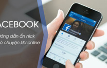 Cách tắt trò chuyện, ẩn nick khi online trên Facebook
