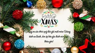 Cách làm thiệp chúc mừng Giáng sinh trên smartphone và máy tính để tặng người thân