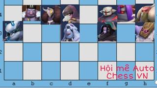 Auto Chess Mobile - Hướng dẫn đội hình và cách đặt cho tộc Demon và Glacier