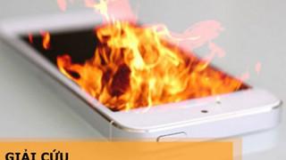 Hướng dẫn: Nguyên nhân điện thoại bị nóng và cách khắc phục