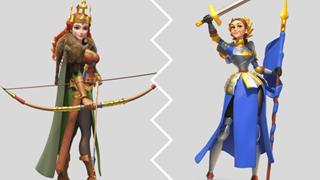 Rise of Kingdoms: Cách chọn cặp đôi tướng cực mạnh mẽ nhất mà game thủ có sử dụng cho các chế độ khá nhau trong game