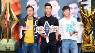 Người hùng U23 Văn Thanh góp mặt cùng đồng đội tại họp báo công bố giải đấu Liên Quân Mobile