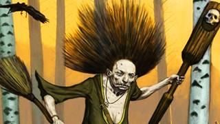 Baba Yaga là ai ? Mụ phù thủy kinh tởm chuyên ăn thịt con nít