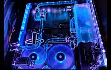 PS4 Pro được custom với trang bị tản nhiệt nước đẹp mắt, xứng đáng là thế hệ tiếp theo