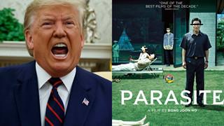 """[HOT] Tổng thống Donald Trump """"mỉa mai"""" gay gắt chiến thắng của Ký sinh trùng tại Oscar 2020"""