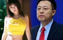 Phát ngôn viên bộ ngoại giao Trung Quốc bị phát hiện theo dõi nữ diễn viên JAV Aoi Sora