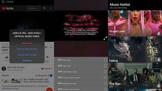 Ứng dụng YoungTunes - nghe nhạc YouTube trên iPhone khi tắt màn hình