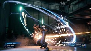Chiến đấu trong Final Fantasy 7 Remake lẽ ra sẽ giống Kingdom Hearts