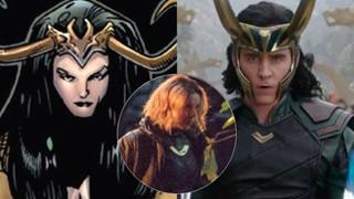 """Hậu trường Loki: Loạt ảnh leak hé lộ phiên bản nữ của """"thánh lừa lọc"""" nhà Marvel"""