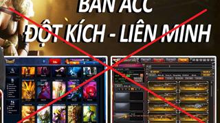 Từ 4/2020, pháp luật cấm người chơi mua bán tài khoản, vật phẩm game