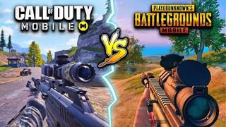 Call of Duty Mobile vs PUBG Mobile: So sánh hai tựa game fps trên di động hàng đầu
