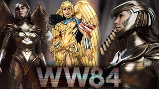 Wonder Woman không chịu thua Black Widow, tung hình ảnh bộ giáp vàng đẹp điên đảo