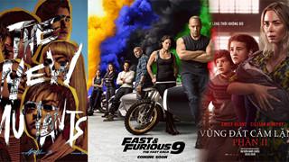Những tựa phim dời lịch chiếu tránh Covid-19 - New Mutants lọt top số nhọ, Fast 9 lo xa hoãn chiếu cả năm