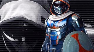 Black Widow: Loạt ảnh hé lộ tạo hình và bộ trang phục chi tiết của phản diện Task Master