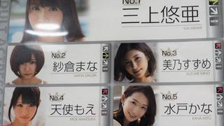 Top những diễn viên JAV 18+ tháng 4 - Yua Mikami vững tin top 1