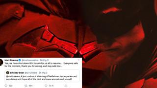 The Batman tạm ngưng sản xuất do Covid-19, đạo diễn cập nhật sức khoẻ ekip trên Twitter