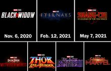 SHOCK: Marvel Studios dời lịch toàn bộ Phase 4