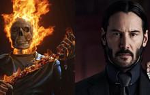 Sẽ như thế nào khi Keanu Reeves từ John Wick trở thành loài quỷ khét tiếng Ghost Rider trong MCU?