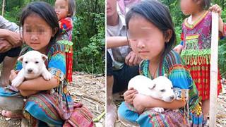 Bố mẹ bán chó khi hết tiền vì dịch, cô bé đuổi theo nhất quyết níu lại: Chú đừng bắt con chó này của cháu, cháu không bán đâu