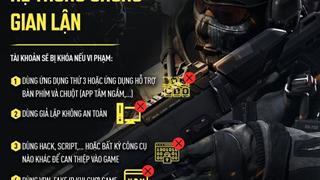 Call of Duty Mobile Việt Nam công bố phương thức chống hack và phản ứng của game thủ Việt