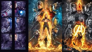Những poster Avengers: Endgame cực chất nhưng không được sử dụng