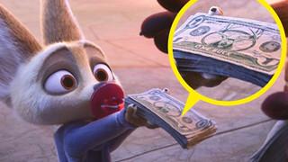 Loạt ảnh chứng minh sự tỉ mỉ đỉnh cao của hoạt hình Disney